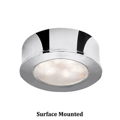 WAC Lighting LED Button Light Chrome 2.25-Inch LED Under Cabinet Puck Light