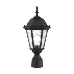 Livex Lighting Hamilton Textured Black Post Light