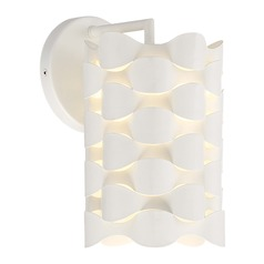George Kovacs Coastal Current Sand White LED Sconce