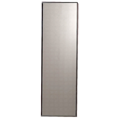 Mirrored Door with Plated Glass Frame