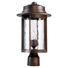 Quorum Lighting Charter Oiled Bronze Post Lighting