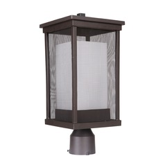 Craftmade Lighting Riviera Ii Oiled Bronze Post Light