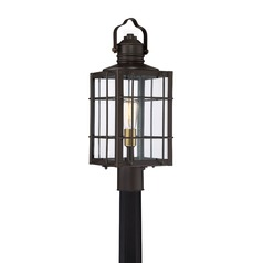 Quoizel Lighting West Oak Western Bronze Post Light