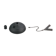 Ceiling Adaptor in Matte Black Finish