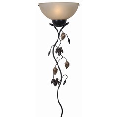 Kenroy Home Lighting Vineyard Oil Rubbed Bronze Sconce