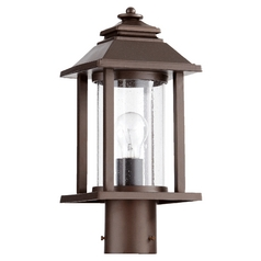 Quorum Lighting Crusoe Oiled Bronze Post Lighting