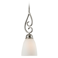 Thomas Lighting Chatham Brushed Nickel Mini-Pendant Light