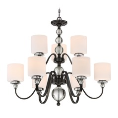 Quoizel Lighting Downtown Dusk Bronze Chandelier