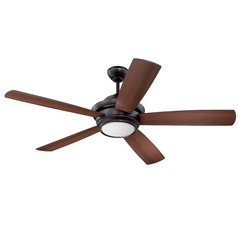 Craftmade Lighting Tempo Oiled Bronze LED Ceiling Fan with Light