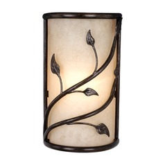 Vine Oil Shale Sconce by Vaxcel Lighting