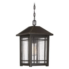 Quoizel Lighting Cedar Point Palladian Bronze Outdoor Hanging Light