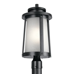 Marine / Nautical Post Light Black Harbor Bay by Kichler Lighting