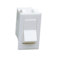 Light Switch in White Finish