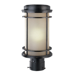 Outdoor Post Light - 13-1/2-Inches Tall
