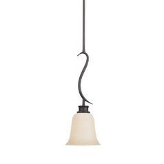 Montego Mini-Pendant Light in Oil Rubbed Bronze