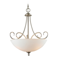Cornerstone Lighting Chatham Brushed Nickel Pendant Light