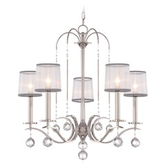 Quoizel Whitney Imperial Silver Chandelier