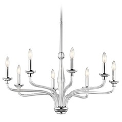 Kichler Lighting Loula Chrome Chandelier