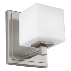 Feiss Lighting Sutton Satin Nickel LED Sconce