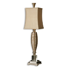 Console & Buffet Lamp in Gold / Polished Chrome Finish