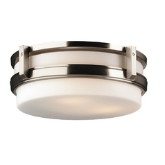 Forecast Lighting Three-Light Flushmount Ceiling Light F611136
