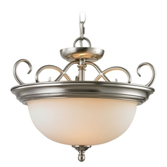 Thomas Lighting Chatham Brushed Nickel Pendant Light