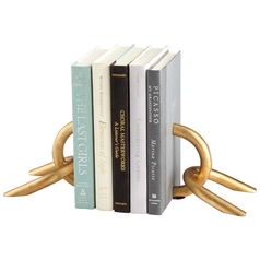 Cyan Design Goldie Locks Gold Bookend