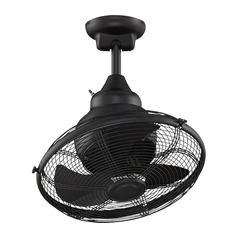 Fanimation Fans Extra Black Ceiling Fan Without Light