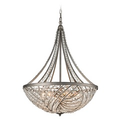 Elk Lighting Renaissance Weathered Zinc Pendant Light