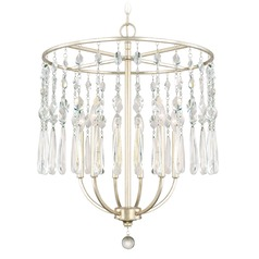 Capital Lighting Juliette Winter Gold Chandelier