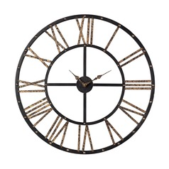 Sterling Lighting Mombaca Black / Gold Clock
