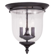 Livex Lighting Legacy Bronze Flushmount Light