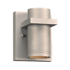 Plc Lighting Boardwalk-I Brushed Aluminum LED Outdoor Wall Light