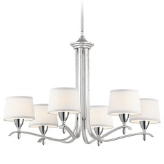 Kichler Lighting Cordova Silver Leaf Chandelier