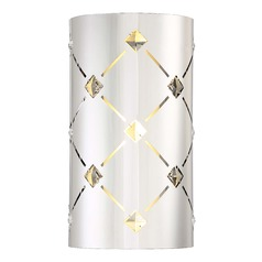 George Kovacs Crowned Chrome LED Sconce