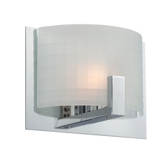 Lite Source Waldron Chrome Sconce