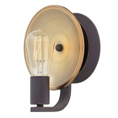Industrial Oil Rubbed Bronze Wall Sconce by Hinkley Lighting