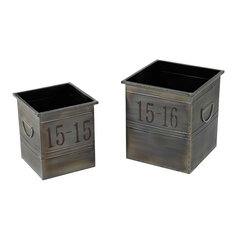 Sterling Lighting Signature Oxidized Metal Box