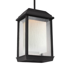 Feiss Lighting Mchenry Textured Black LED Outdoor Hanging Light