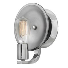 Mid-Century Modern Sconce Polished Nickel Boyer by Hinkley Lighting
