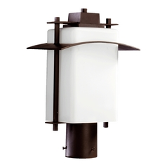 Quorum Lighting Kirkland Oiled Bronze Post Lighting
