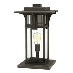 Hinkley Lighting Manhattan Oil Rubbed Bronze Post Light