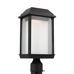 Feiss Lighting Mchenry Textured Black LED Post Light