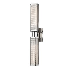 Hudson Valley Lighting Gibbs Polished Nickel Sconce