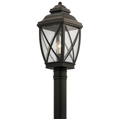 Kichler Lighting Tangier Olde Bronze Post Light