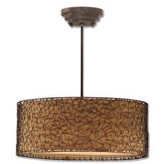 Uttermost Lighting Drum Shade Pendant 21153