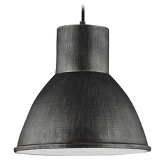 Sea Gull Lighting Division Street Stardust LED Pendant Light with Bowl / Dome Shade