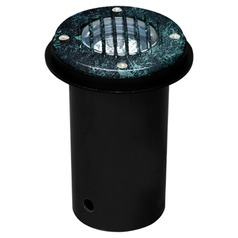 Verde Green Cast Aluminum In-Ground Well Light with Grill