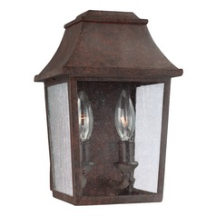Feiss Lighting Estes Patina Copper Outdoor Wall Light