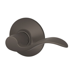 Schlage Passage Door Lever in Oil Rubbed Bronze Finish SH F10N-ACC-613-REV